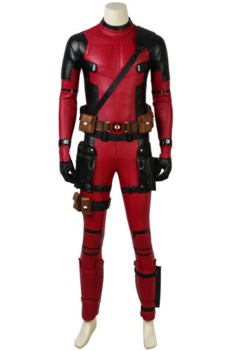 Deadpool 2 Wade Wilson Cosplay Costume Outfit Jumpsuits Halloween Clothes Suit