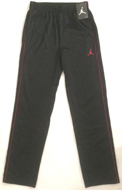 512cce7ef1d814 NWT  45 Boy s Youth Nike Air Jordan Jumpman Athletic Black Pants 959956-297  L