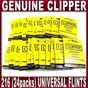 20x Grade A Black Universal Lighter Flints For Clippers Petrol Lighters