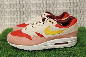 Nike Air Max 1 iD Pink Red QS off white 90 95 vapormax