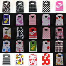 50pcs Wholesale Pretty Pattern Plastic Shopping Jewelry Gift Bag Totes 15*9cm