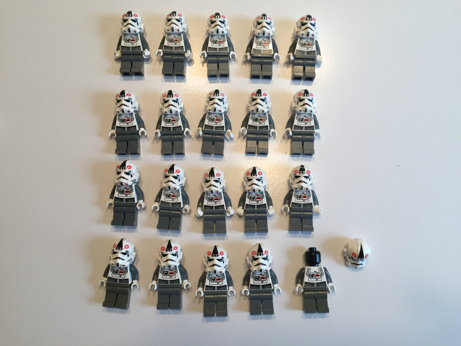 LEGO LEGO LEGO ARC ARF Clone Trooper Lot of 20 Star Wars Minifigure minifig Pilot S261 159237