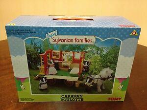 Sylvanian-Families-Caravan-Rare-vintage-New-and-boxed-Original-Tomy