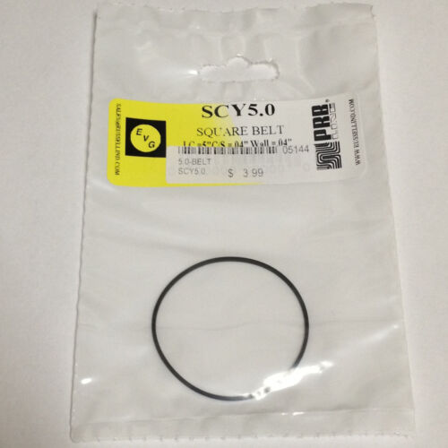 """5.0/"""" IC VCR Replacement Belt Square Cut Rubber SCY5.0 NEW"""