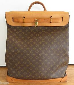 fdccfdfba1 Image is loading PRE-OWNED-LOUIS-VUITTON-STEAMER-45-CANVAS-amp-