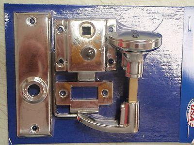 RIM LATCH SET PERKO 0930DP0CHR CHROME PLATED ZINC MARINE HARDWARE BOAT RV PARTS