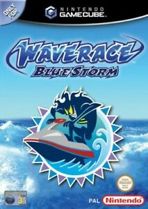 Nintendo-GameCube-Spiel-Wave-Race-Blue-Storm-DE-EN-mit-OVP