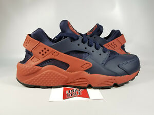 Nike Air Huarache Run WATER ON MARS SPACE PACK RED STONE OBSIDIAN NAVY BLUE sz 8