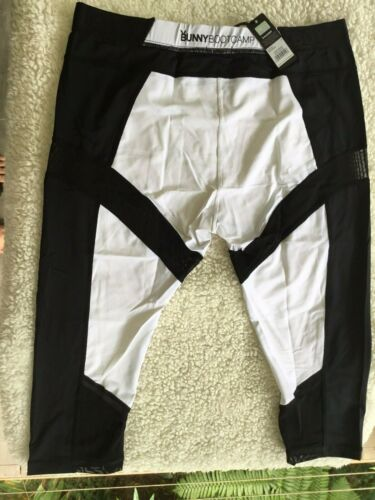 Details about  /BRAS N THINGS AUTHENTIC PLAYBOY MONOCHROME ACTIVE LONG PANTS WHITE//BLACK SIZE 14
