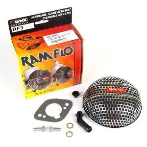 LYNX-RAMFLO-AIR-CLEANER-FILTER-ASSEMBLY-FOR-STROMBERG-ZENITH-CD-150-CARBURETTOR