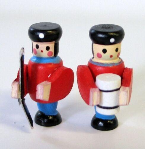 Mini Soldaten 2 Stück Dekoration für die Puppenhaus Dekoration Miniaturen 1:12