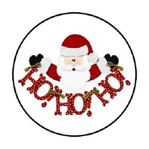 image is loading 48 santa hohoho christmas envelope seals labels stickers - Santa Hohoho 2