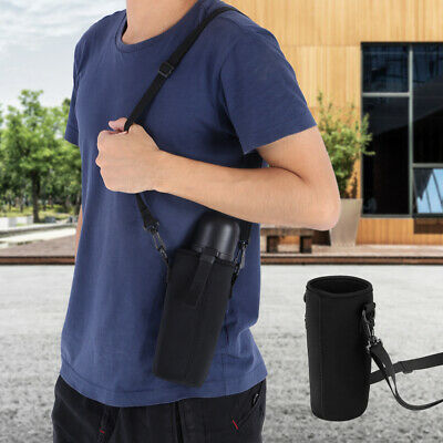 Outdoor Water Bottle Sleeve Carrying Pouch Hiking Kettle Holder Bag With Strap