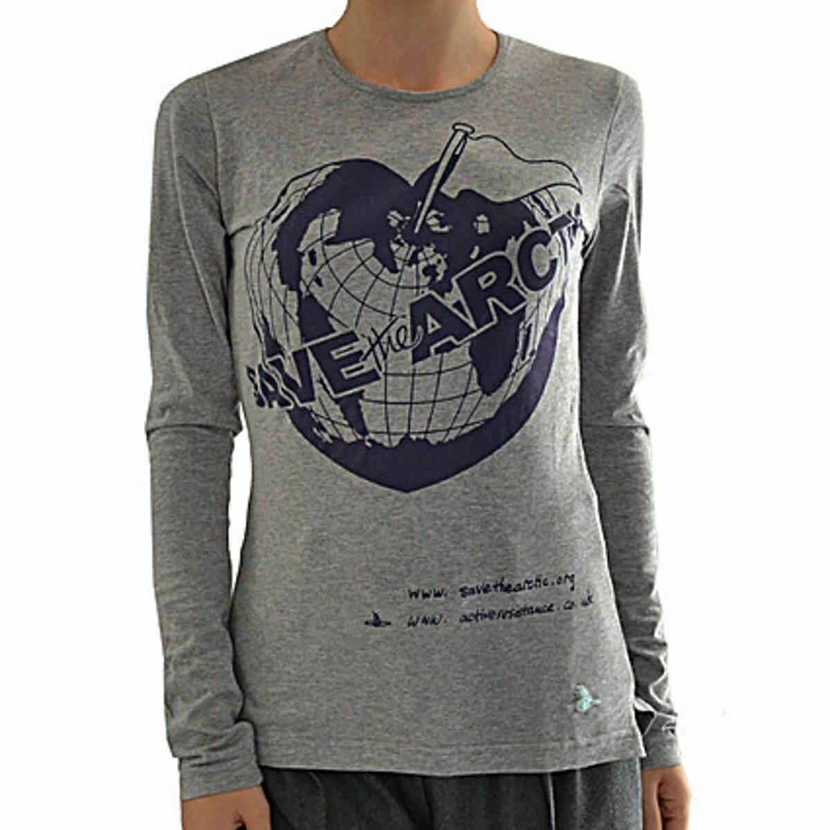 Vivienne Westwood t-shirt Artic ml, Artic tshirt long sleevs