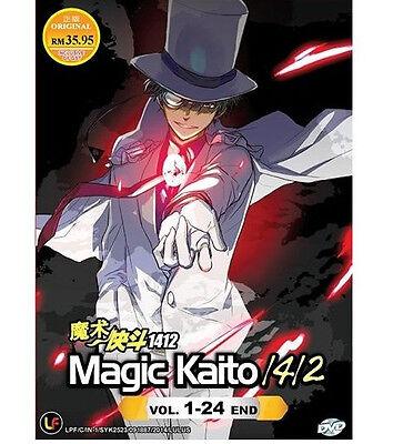 DVD Magic Kaito 1412 Season 1 + 2 Complete Box Set ( Eps. 1 - 24 End ) Eng SUB