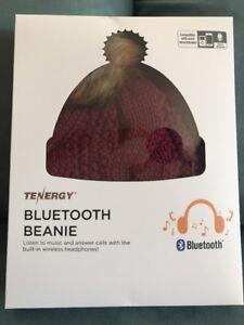 Image is loading TENERGY-Bluetooth-Beanie -Hat-Wireless-Headset-Headphone-Speaker- 2459bf3d69b