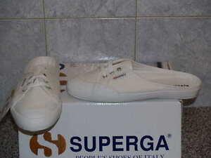 Scarpe Superga 293DCOW Bianco White ORIGINALI Nuove 35