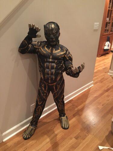 Black Panther  Child Killmonger Costume Gloves