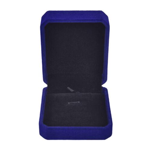 Velvet Necklace Display Box Ring Bracelet Storage Case Charm Jewelry Gift Nice
