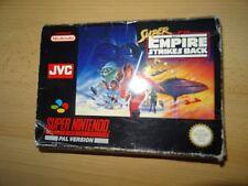 Super Star Wars El Imperio Contraataca Para Super Nintendo SNES-PAL