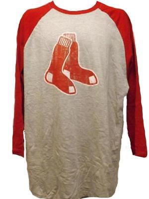 Weitere Ballsportarten Neu Boston Red Sox Herrengrößen L-xl-2xl Groß & Hoch Grau Majestic Shirt