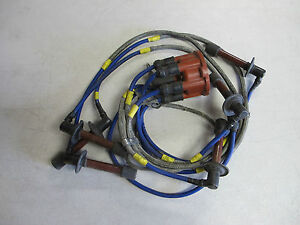 image is loading early-porsche-911-distributor-cap-spark-plug-wires-