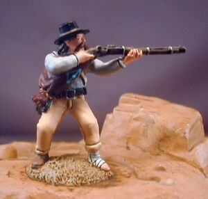 54mm Confederate ACW #24 Sharpshooter Beautifully Painted!  TSSD