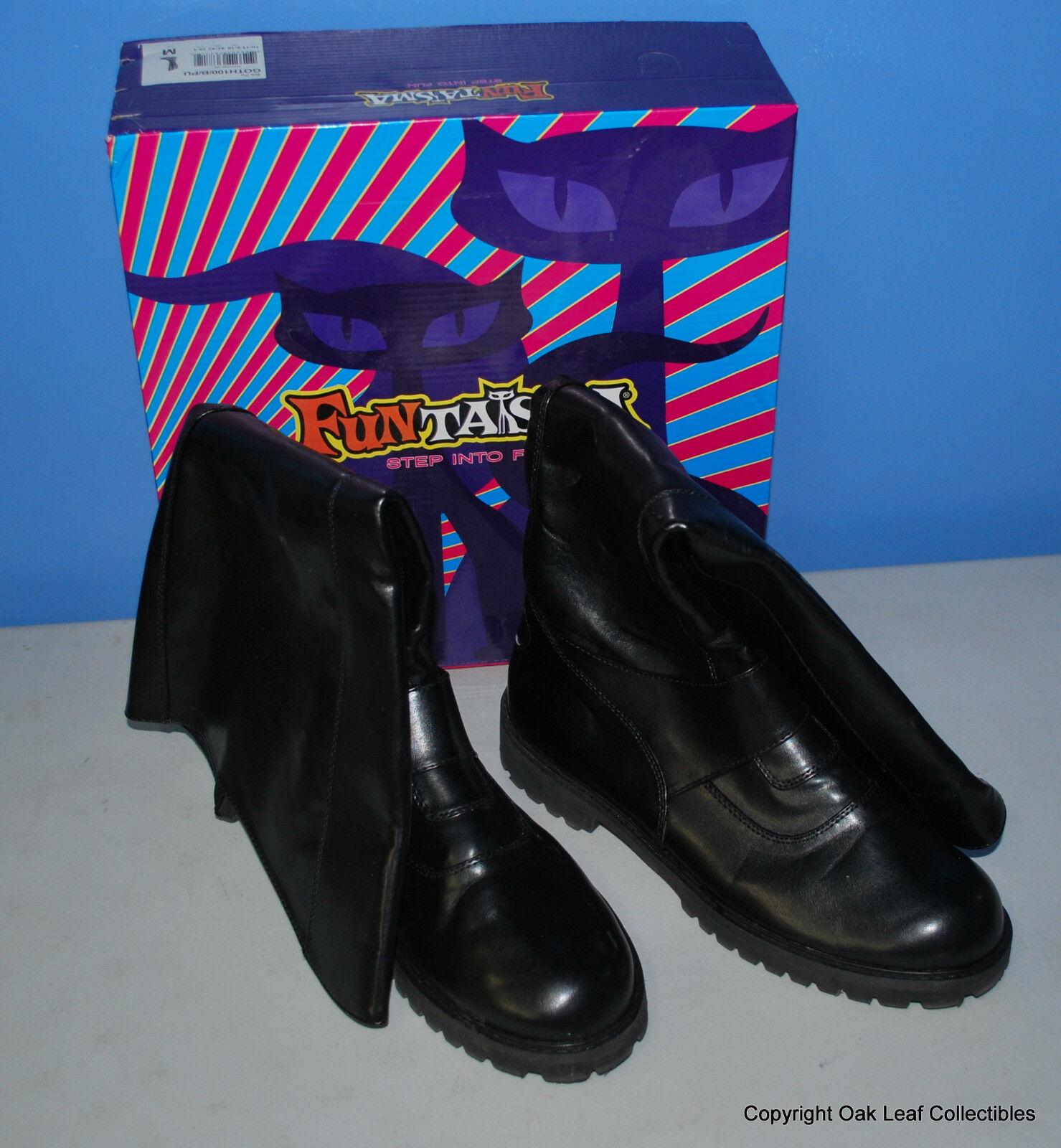 FUNTASMA GOTH100 Mens Knee High Superhero Boot BATMAN! NEW