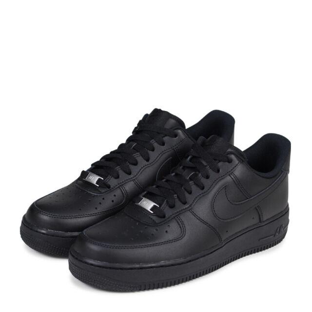 """Buy Nike Air Force 1 '07 """"Triple Black"""" 315122 001 Sneakers Online"""