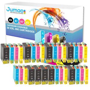 Lot-de-30-cartouches-jet-d-039-encre-Jumao-compatibles-pour-Epson-WorkForce-WF7515