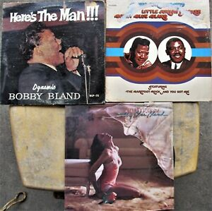 BOBBY-BLAND-LP-LOT-Here-s-The-Man-BLUES-CONSOLIDATED-Jr-Parker-SWEET-VIBRATIONS