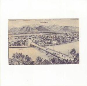 AK Ansichtskarte Kunstkarte / Rosenheim - 1924