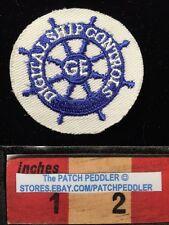 GENERAL ELECTRIC GE HAT/JACKET PATCH ~ Digital Ship Controls ~ Cut Edge 5DA8