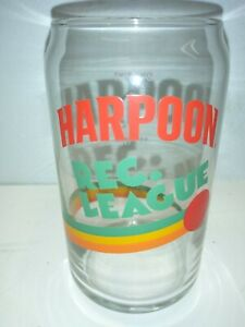 Vintage-HARPOON-REC-LEAGUE-ONE-PINT-EST-1986-16-oz-Beer-Glass-209-NEW-48-Count