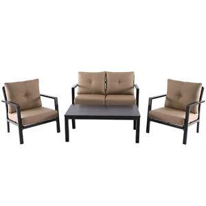 4-PCS-Outdoor-Patio-Aluminum-Furniture-Sofa-Set-Table-Chair-Cushioned-Deck-Seat