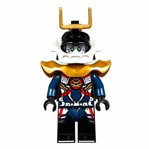 LEGO-NINJAGO-Samurai-X-P-I-X-E-L-Minifigure-NEW-Golden-Armour-Helmet-Genuine