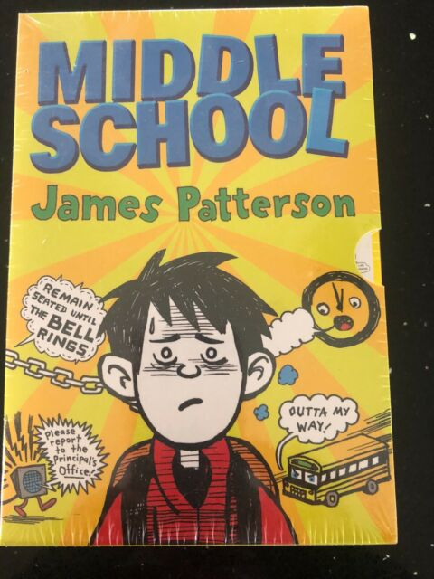Brand New Middle School four 4 hilarious novels books by James Patterson