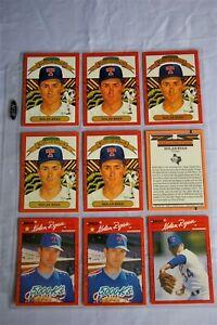 All 1990 Variants Nolan Ryan Baseball Cards w/ Errors + No# Mets Angels Rangers