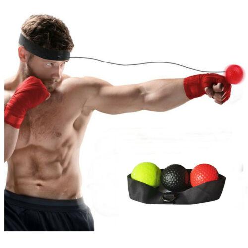 25G 65G 85G Fight Ball Reflex Training Boxer Speed Punch Head Cap String