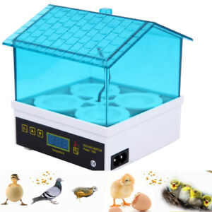 Motorbrueter-Inkubator-4-Eier-Brutmaschine-Brutapparat-automatisch-Flaechenbrueter