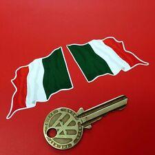 Italiano Il Tricolor Bandera De Ondulado 2 En Pegatinas Italia