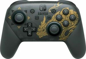 Official Nintendo Switch Pro Controller - Monster Hunter Rise Edition