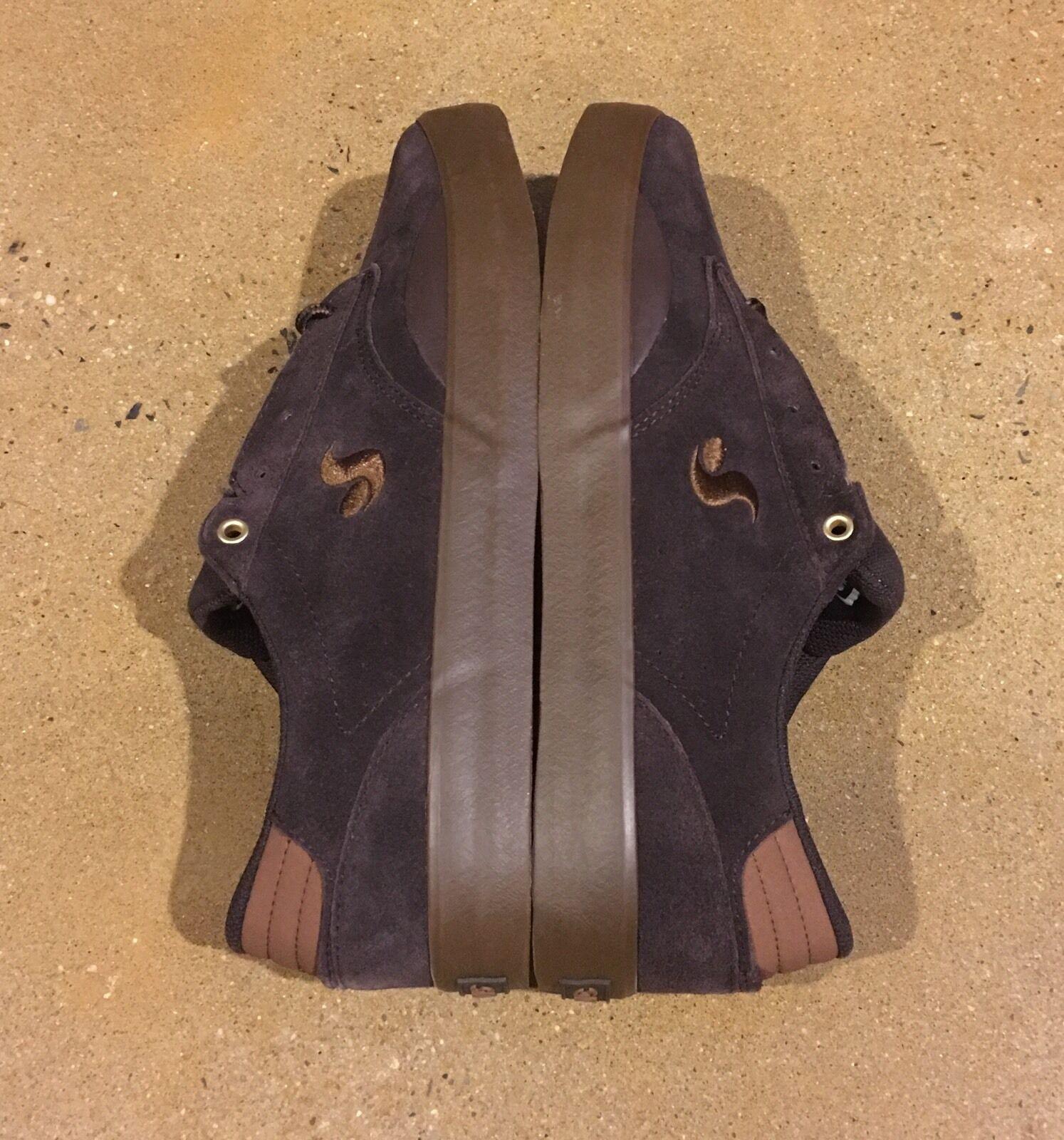 DVS Daewon 14 Coffee Suede Size 10 BMX DC Skate Shoes Sneakers Daewon Song Scarpe classiche da uomo