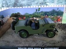 1/43 Willys Jeep M606  James Bond  OCTOPUSSY 007 series  diorama