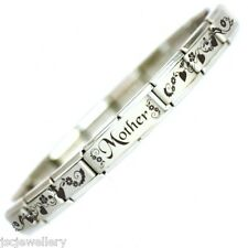 MOTHER Italian Charm Bracelet Mothers Mother's Day Gift, Birthday