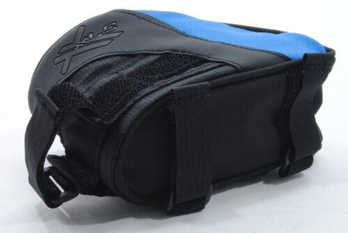 Black//Blue Bicycle Frame Bag for Frame Top Tube