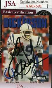 Eric-Dickerson-1992-Skybox-Jsa-Coa-Hand-Signed-Authentic-Autograph