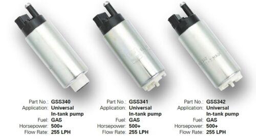 Walbro GSS341 Fuel Pump 255 LPH High Pressure Electric 400-766 Kit