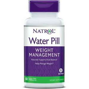 Natrol Weight Loss Supplements Water Pill Tablet 60ct