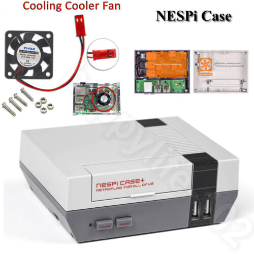 Mini Retroflag NESPi NES Style Case for Raspberry Pi 3 Computer Case 2 B